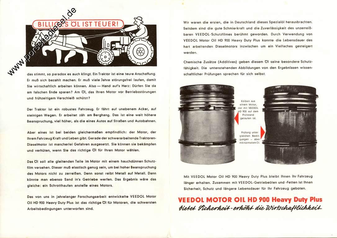 zusätze für dieselmotoren